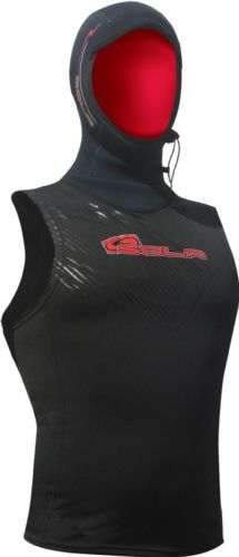 SOLA PLUSH HOODED POLY PROP VEST